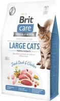 Фото - Корм для кошек Brit Care Tobby I am Large 0.4 kg