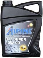 Моторное масло Alpine RST Super 15W-40 4L