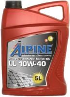 Моторное масло Alpine LL 10W-40 5L