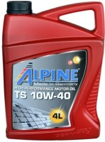 Моторное масло Alpine TS 10W-40 4L