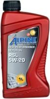 Моторное масло Alpine RSL 5W-20 1L