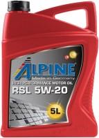 Моторное масло Alpine RSL 5W-20 5L