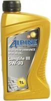 Моторное масло Alpine Longlife III 5W-30 1L