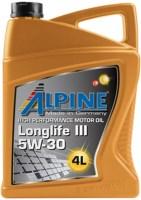Моторное масло Alpine Longlife III 5W-30 4L