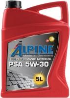 Моторное масло Alpine PSA 5W-30 5L