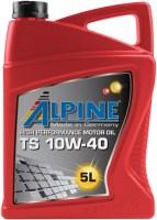 Моторное масло Alpine TS 10W-40 5L