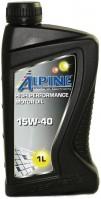Моторное масло Alpine Turbo 15W-40 1L