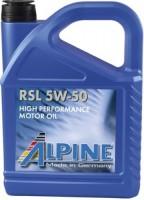 Моторное масло Alpine RSL 5W-50 4L