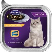 Фото - Корм для кошек Butchers Adult Classic Pro Indoor Chicken 0.1 kg