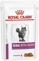 Фото - Корм для кошек Royal Canin Renal Chicken Pouch 0.085 kg