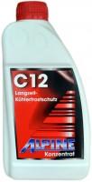 Охлаждающая жидкость Alpine Kuhlerfrostschutz C12 Red 1L
