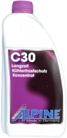 Фото - Охлаждающая жидкость Alpine Kuhlerfrostschutz C30 Violett 1.5L