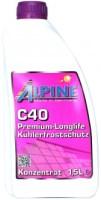 Охлаждающая жидкость Alpine Kuhlerfrostschutz C40 Violett 1.5L