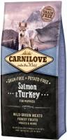 Фото - Корм для собак Carnilove Puppy Salmon/Turkey 12 kg