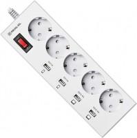 Сетевой фильтр / удлинитель REAL-EL RS-5F Charge 4 3m