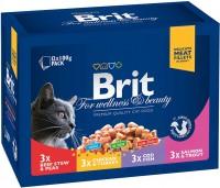 Корм для кошек Brit Premium Pouches Family Plate 0.1 kg