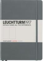 Блокнот Leuchtturm1917 Dots Notebook Composition Medium Grey