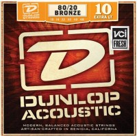 Струны Dunlop 80/20 Bronze Extra Light 10-48