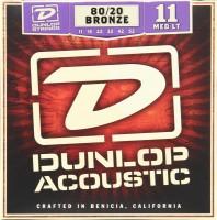 Струны Dunlop 80/20 Bronze Medium Light 11-52