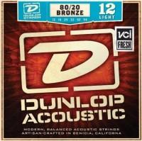 Струны Dunlop 80/20 Bronze Light 12-54