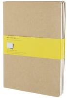 Блокнот Moleskine Set of 3 Squared Cahier Journals XLarge Beige