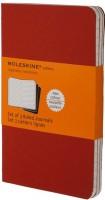 Блокнот Moleskine Set of 3 Ruled Cahier Journals Large Red