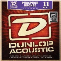 Струны Dunlop Phosphor Bronze Medium Light 11-52