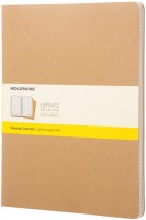 Блокнот Moleskine Set of 3 Ruled Cahier Journals XXL Beige