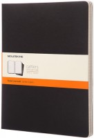 Блокнот Moleskine Set of 3 Ruled Cahier Journals XXL Black