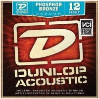 Струны Dunlop Phosphor Bronze Light 12-54