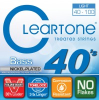Струны Cleartone Nickel-Plated Light Bass 40-100