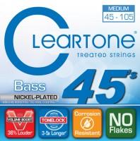Струны Cleartone Nickel-Plated Medium Bass 45-105