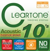 Струны Cleartone Phosphor Bronze Extra Light 10-47