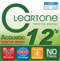 Струны Cleartone Phosphor Bronze Light 12-53