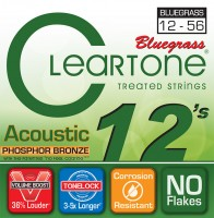 Струны Cleartone Phosphor Bronze Bluegrass 12-56