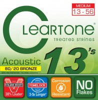 Струны Cleartone 80/20 Bronze Medium 13-56