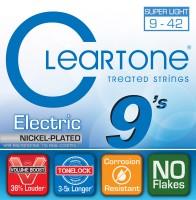 Струны Cleartone Nickel-Plated Super Light 9-42