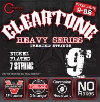 Струны Cleartone Nickel-Plated 7-String Super Light 9-52