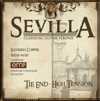 Струны Cleartone Sevilla Tie End High Tension