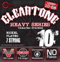 Струны Cleartone Nickel-Plated 7-String Light 10-56
