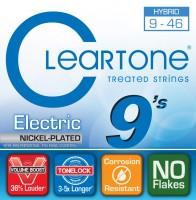 Струны Cleartone Nickel-Plated Hybrid 9-46