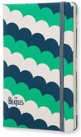 Блокнот Moleskine The Beatles Ruled Green