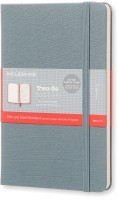 Блокнот Moleskine Two-Go Notebook Saxe Blue
