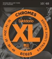 Фото - Струны DAddario XL Chromes Flat Wound 10-48