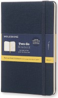 Блокнот Moleskine Two-Go Notebook Blue