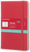 Блокнот Moleskine Two-Go Notebook Red