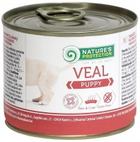 Корм для собак Natures Protection Puppy Canned Veal 0.2 kg