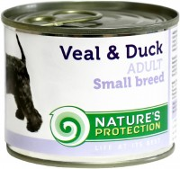 Фото - Корм для собак Natures Protection Adult Canned Small Breeds Veal/Duck 0.2 kg