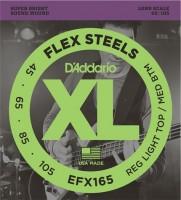 Фото - Струны DAddario XL FlexSteels Bass 45-105