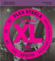 Фото - Струны DAddario XL FlexSteels Bass 45-100